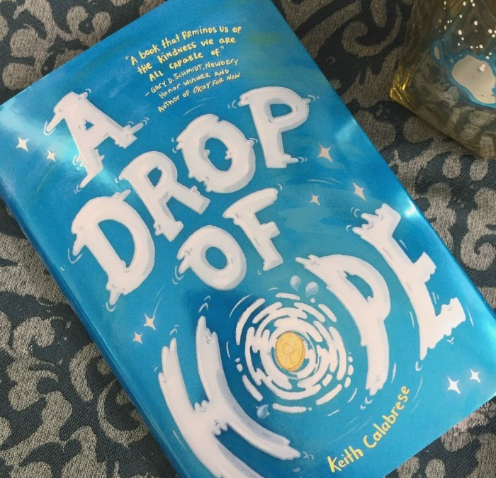 A Drop of Hope: The kind of book kids need