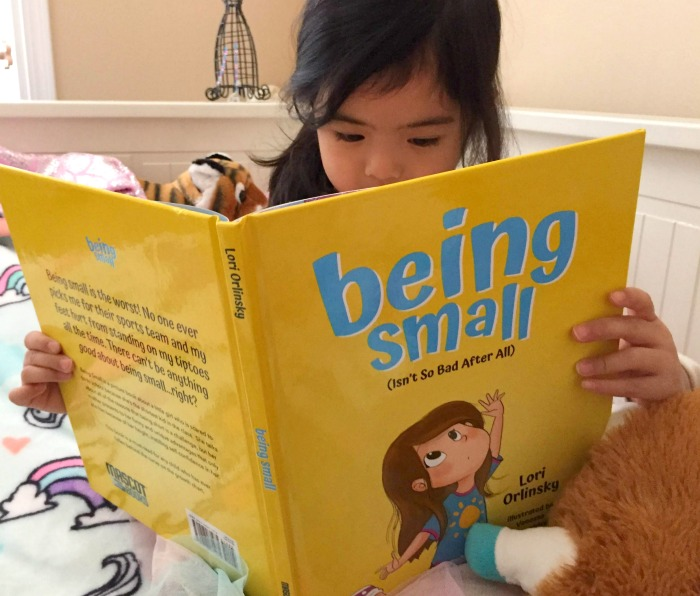 "A picture book review of ""Being Small (Isn't so Bad After All)"" by Chicago author and mom Lori Orlinksy."