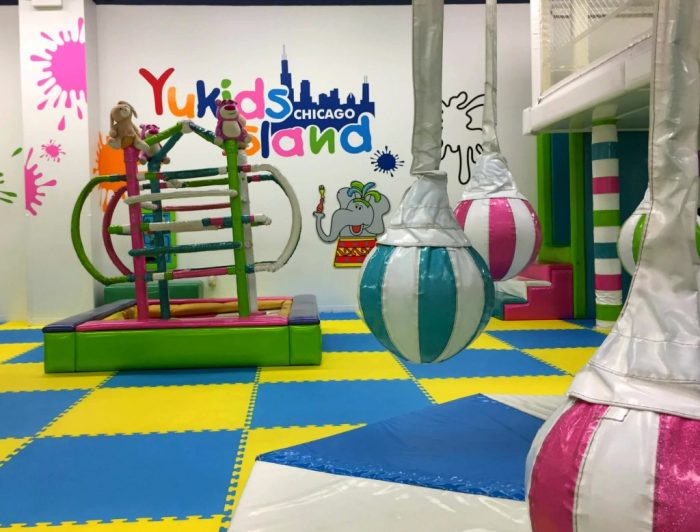 Yu Kids Island, an island play oasis of fun at Woodfield Mall.