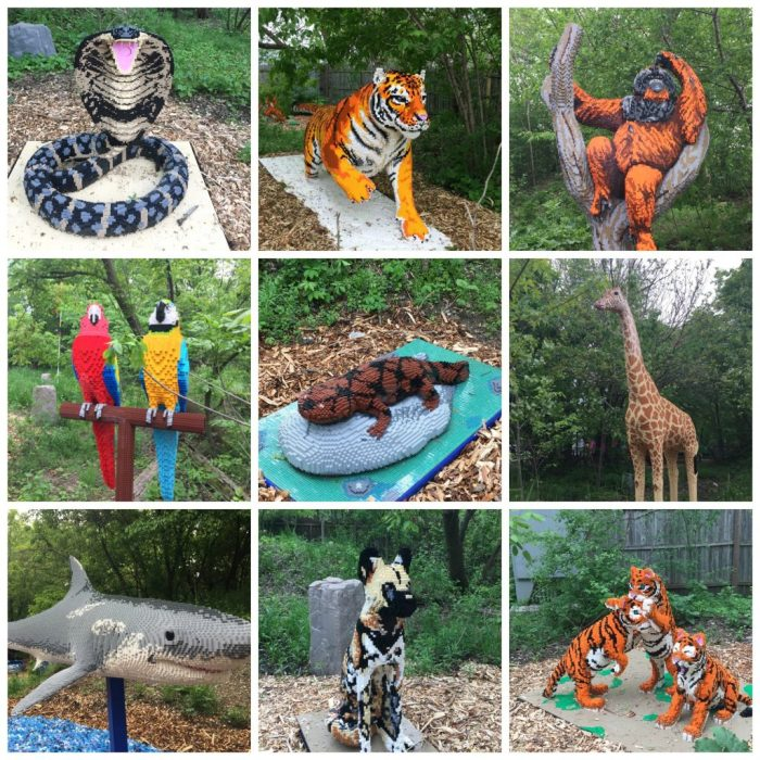 This summer go on a Brick Safari at Brookfield Zoo featuring more than 40 animals made of out LEGOs.