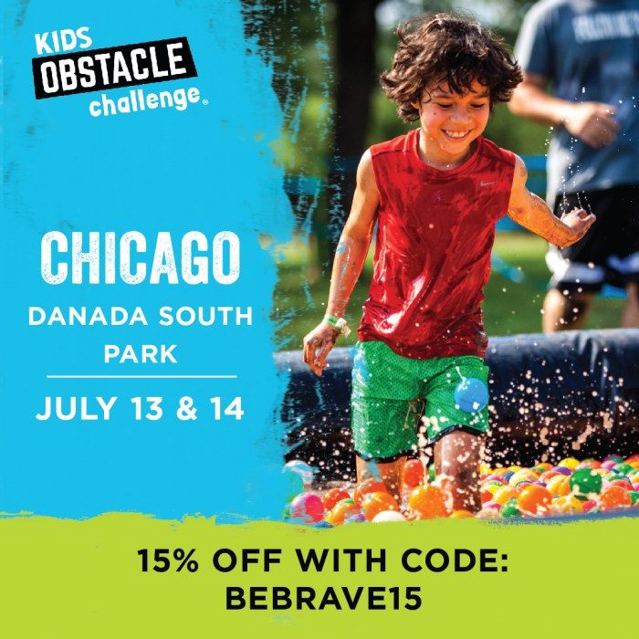 Kids Obstacle Challenge: Muddy Fun where Parents Run for FREE + GIVEAWAY