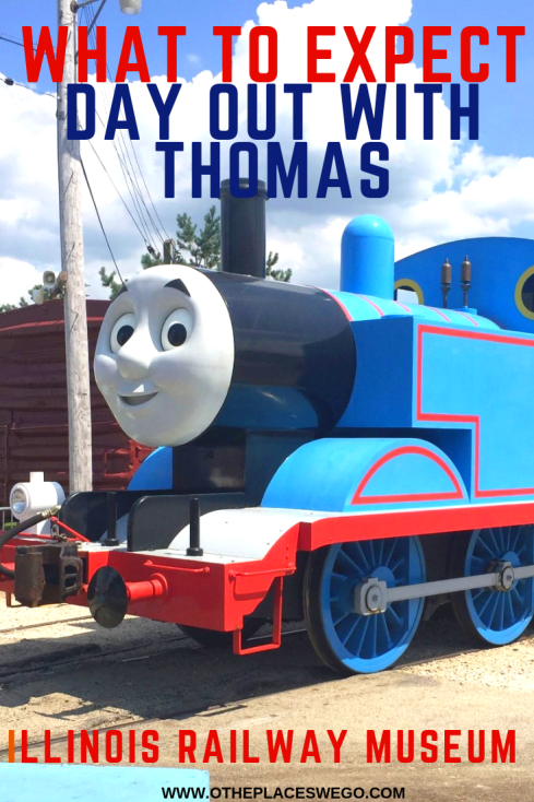 What to expect on your Day Out With Thomas at Illinois Railway Museum in Union Illinois