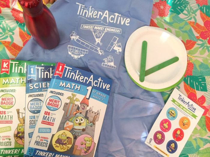 A review of TinkerActive Workbooks that focus on STEM concepts for Kindergarteners to second graders.