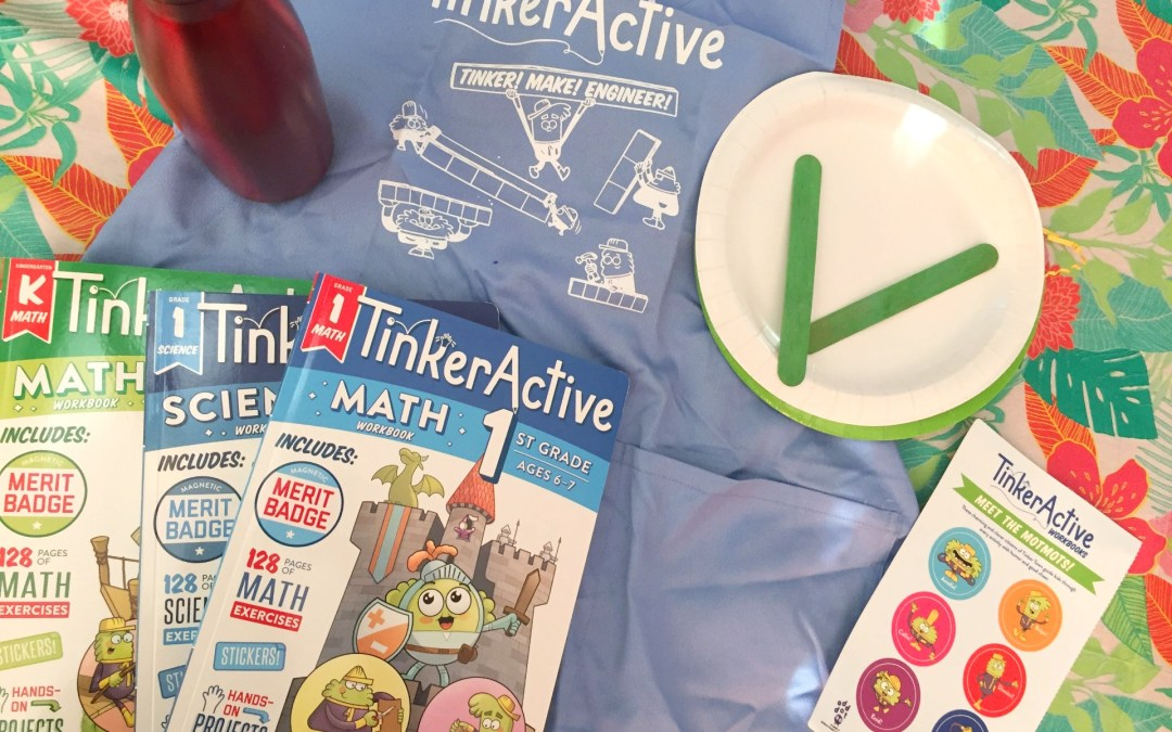 Get ready for school with TinkerActive Workbooks