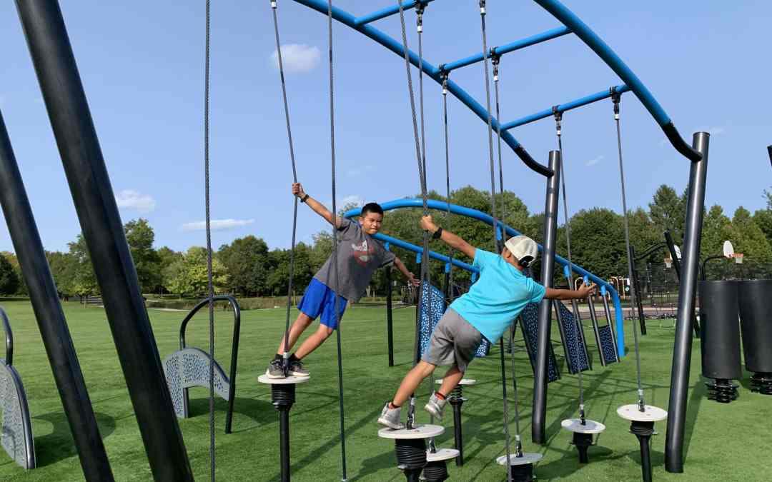 Parks We GO: Ninja Park in Schaumburg