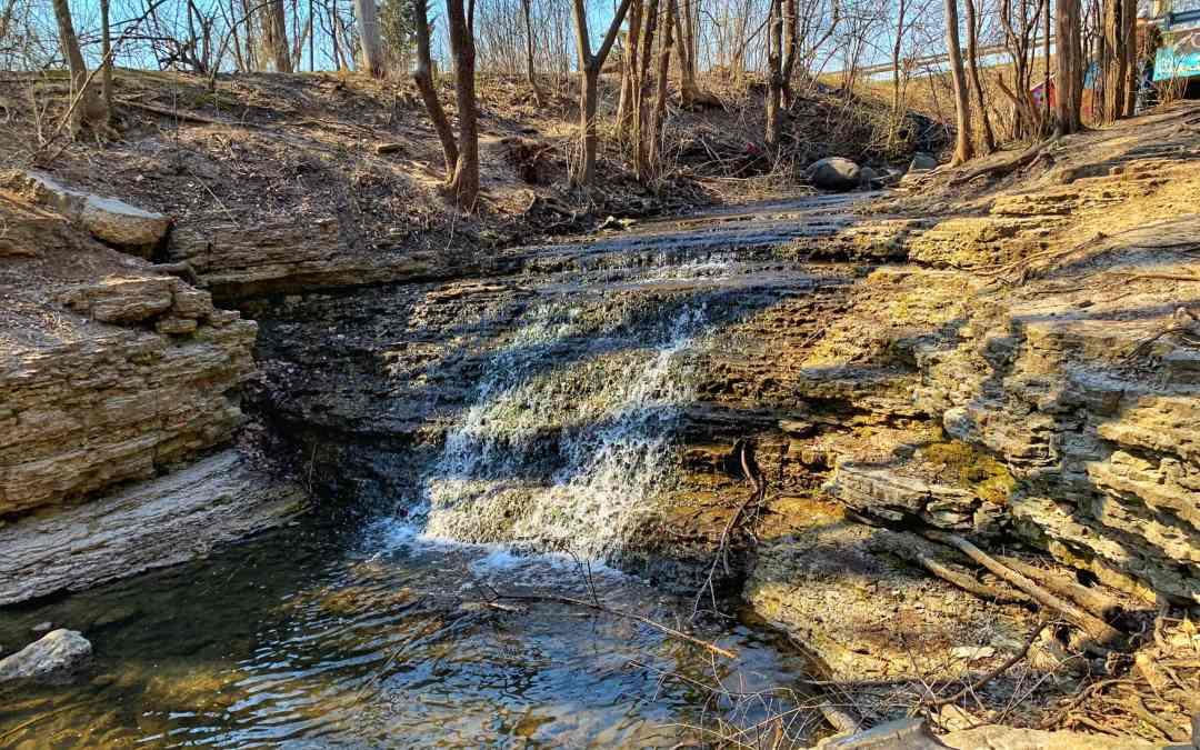 Finding South Elgin's secret waterfall