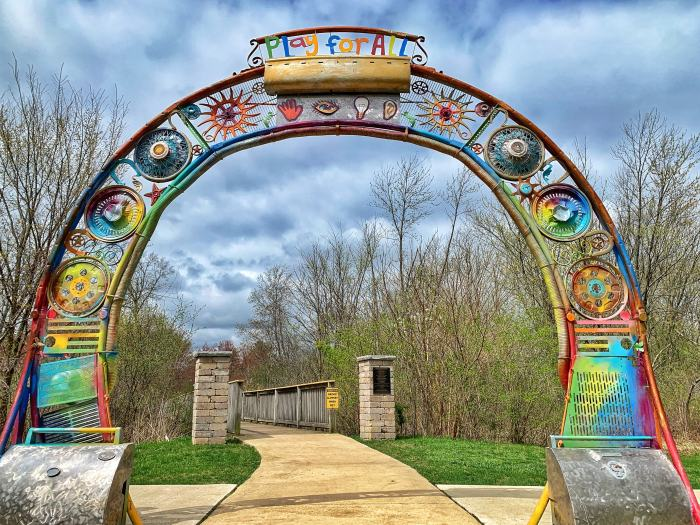 Visit Sensory Garden Playground in Lisle, a horse-themed playground for all abilities. Find sculptures, walking paths, and a treehouse.