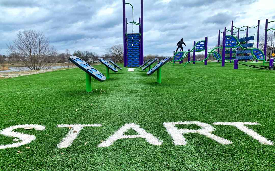 Parks we GO: South Ridge Park in Hoffman Estates