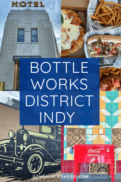 Explore the new The Bottleworks District in Indianapolis that includes Bottleworks Hotel,The Garage Food Hall,shops, duck bowling,and more.