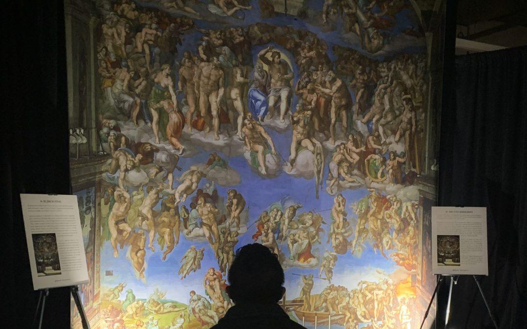 Date Night Idea: Sistine Chapel Exhibition (+Beer, Macarons, Ice Cream)