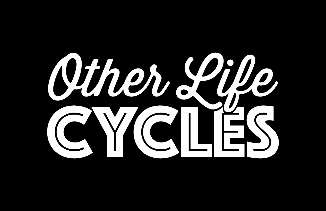 Other Life Cycles O. G. logo t-shirt