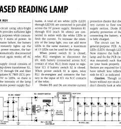 3 watt ac 10 led reading lamp circuit [ 2216 x 1643 Pixel ]