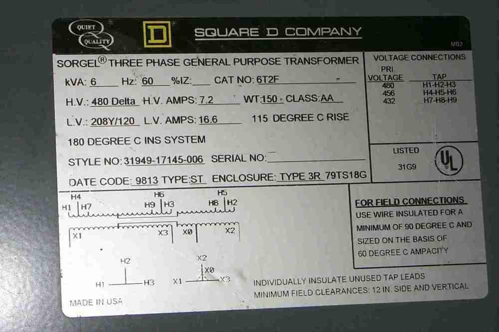 medium resolution of 480 volt single phase transformer wiring diagram 480 get square d industrial control transformer wiring diagram square d isolation transformer wiring