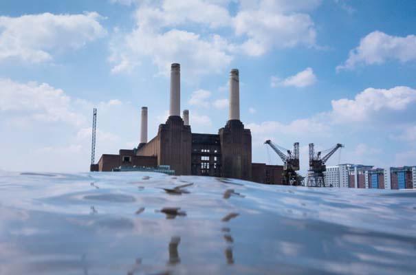 Φωτογραφίες από συγκεκριμένη γωνία λήψης δείχνουν το Λονδίνο μισοβυθισμένο (2)