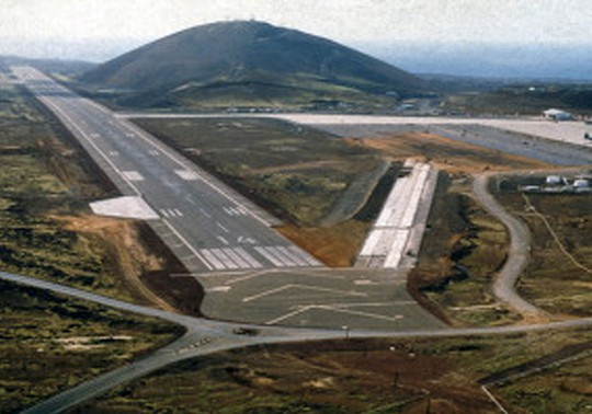 OTIE Project  Runway Repairs at the Ascension Island Auxiliary Airfield