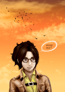 SNK,attack on titan fan art,Hanji