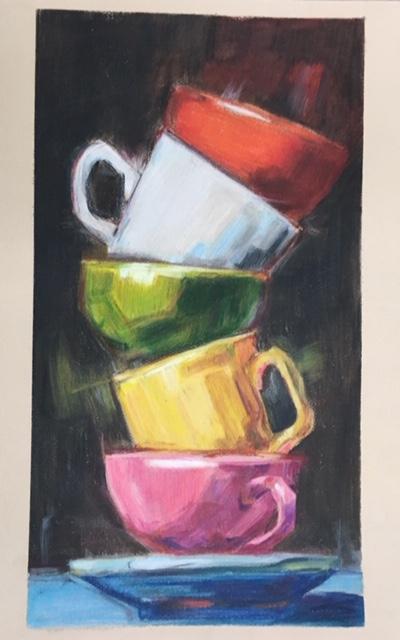 color pencil painting otis