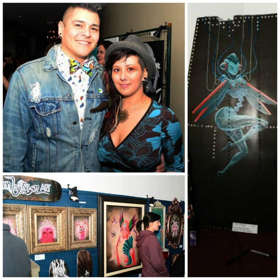 Jenn Brisson, artwork, raw, visionary