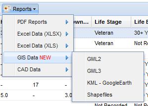 Reports - GIS