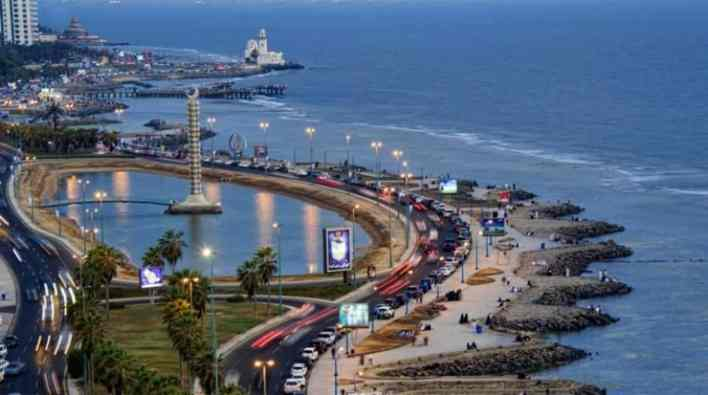 اين تقع جدة وما المسافة بينها وبين مدن السعودية   عطلات