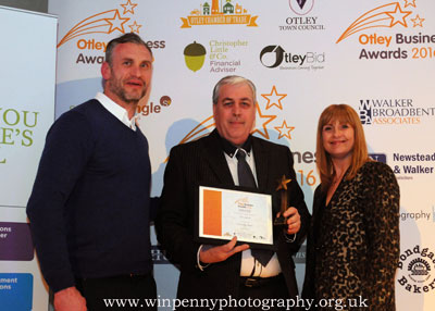Otley Business Awards 2016  Otley  District Chamber of