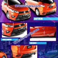 Harga Toyota New Yaris Trd 2014 Innova Venturer 2017 Aksesoris Mobil All Up Any 22 Bodykit Tipe Sportivo Pusat Terlengkap Dan