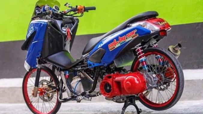 Modifikasi NMAX Thailand Drag Style