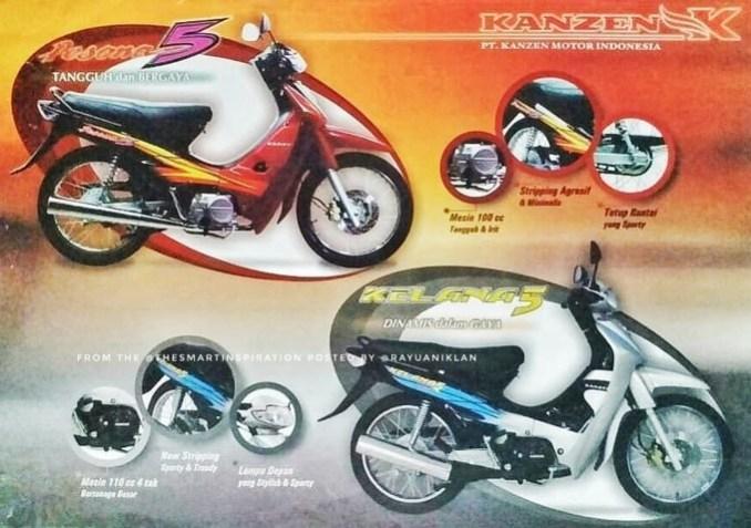 Motor Kanzen Pesona 5 dan Kelana 5