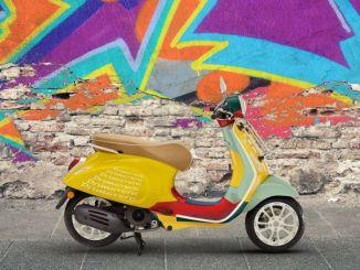 Piaggio Luncurkan Vespa Primavera Sean Wotherspoon Bergaya Fashion Kental