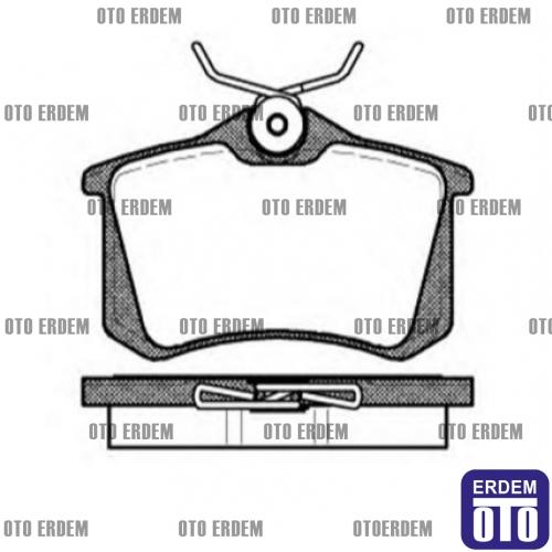 Renault Megane 2 Arka Fren Balatası MGA 440605839RM » Oto