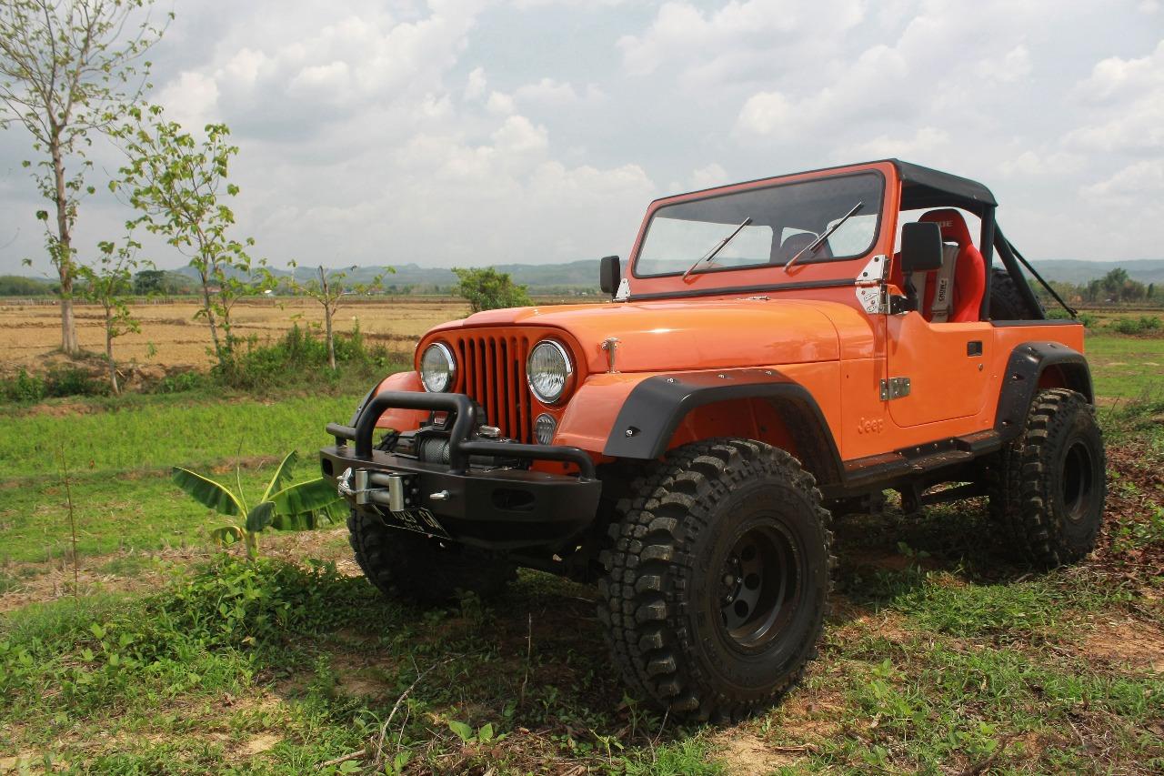 Modifikasi Jeep CJ 7 Tua Tapi Tangguh Otoinfoid