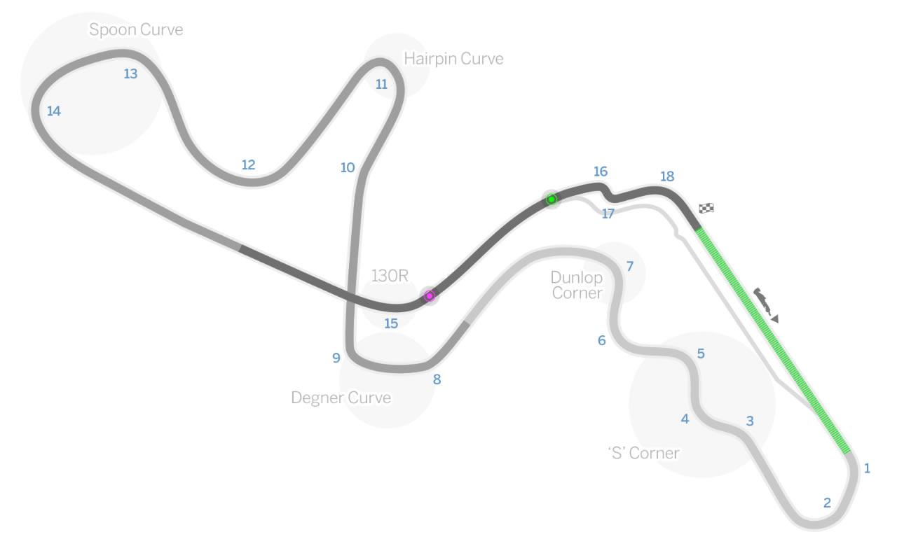 Formula 1 Japonya Grand Prix Saat Kacta