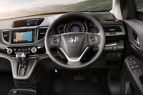 Interior Mobil Honda BR-V