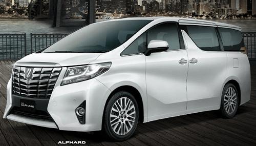 Harga Mobil Toyota Alphard Solo