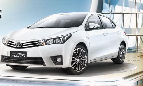 Gambar Mobil Toyota Jenis Sedan  Rommy Car
