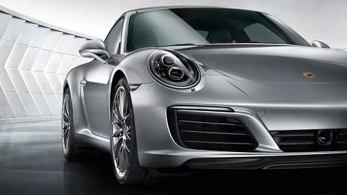 Grill Desain Porsche 911 Carrera S