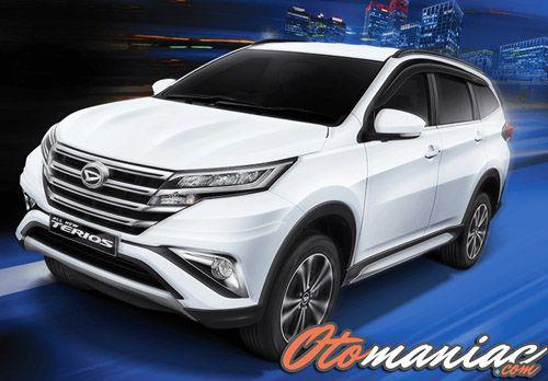 Spesifikasi dan Harga All New Daihatsu Terios