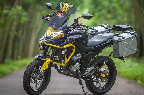 Modifikasi Honda Tiger Adventure