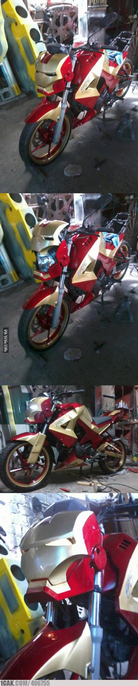 fz yamaha iron man