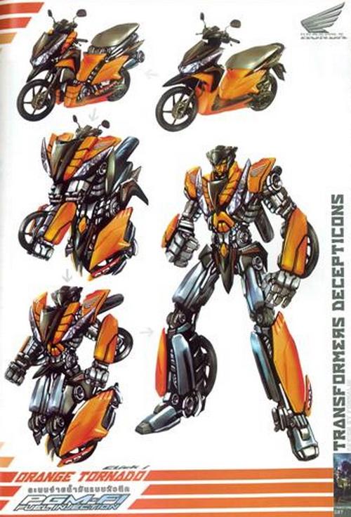 honda transformers 4