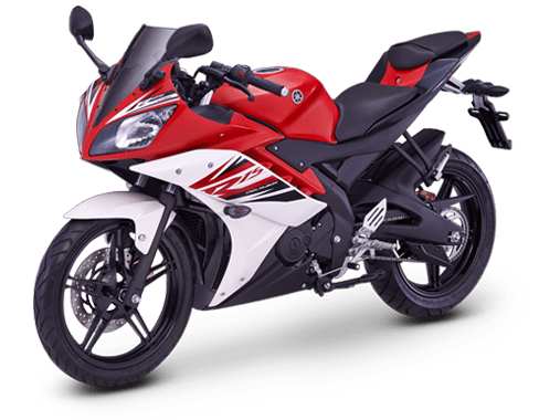 Yamaha R15 motor-red
