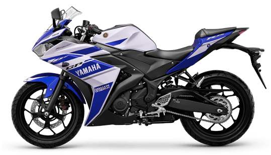 Yamaha R25 racing-blue otomercon
