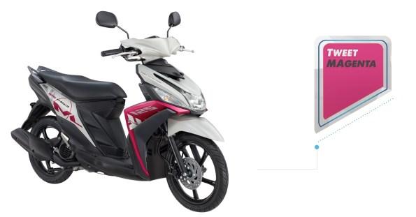 Pilihan warna Yamaha Mio 125 M3 Bluecore Harga dan Spesifikasi ma