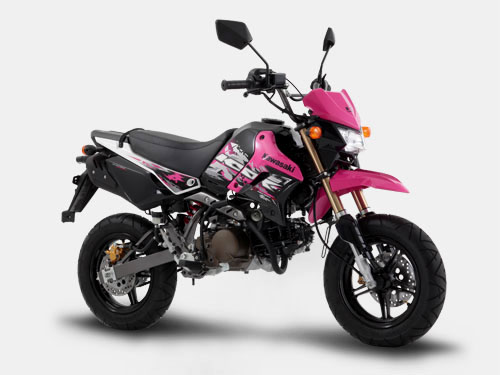 Kawasaki KSR 110 pink philippiness otomercon (1)