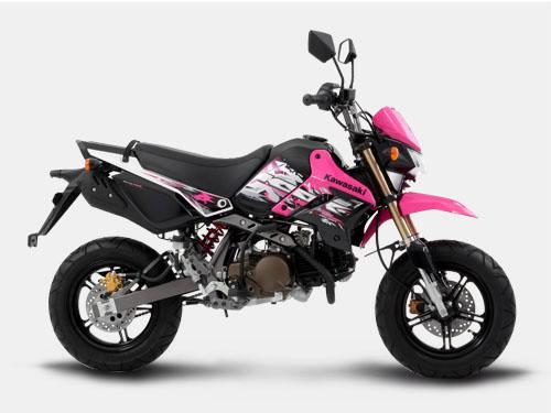 Kawasaki KSR 110 pink philippiness otomercon (3)