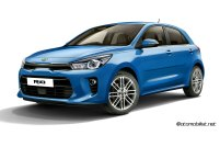 2017-Kia-Rio-Blue-Paris-Front-Side