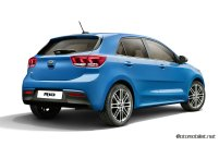 2017-Kia-Rio-Blue-Paris-rear-Side