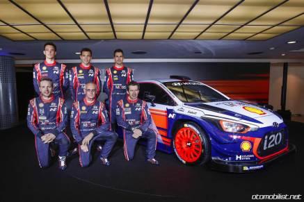 Hyundai i20 Coupe WRC team