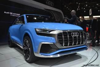 Audi Q8 Coupe Concept Detroit Fuar