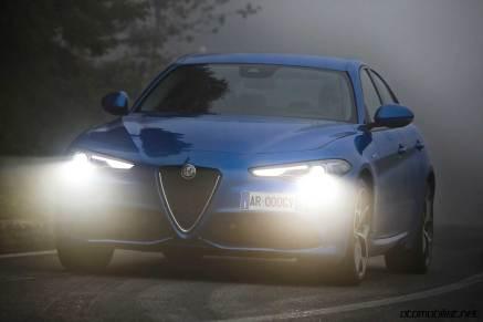 Alfa Romeo Giulia Veloce fog